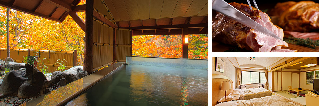 Jozankei's most expansive spa and resort