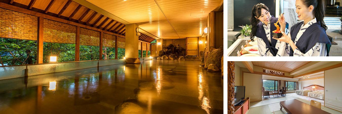 定山渓温泉随一の規模を誇る 巨大スパ・リゾート